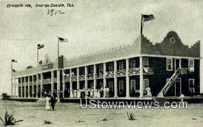 Epworth Inn - Corpus Christi, Texas TX Postcard