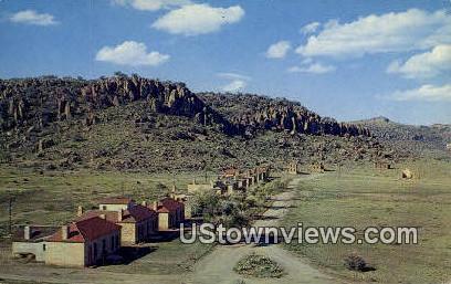 Old Fort Davis - Davis Mountains, Texas TX Postcard