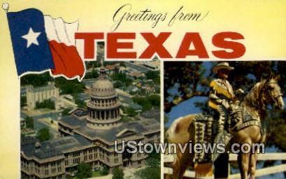 San Jacinto - Houston, Texas TX Postcard
