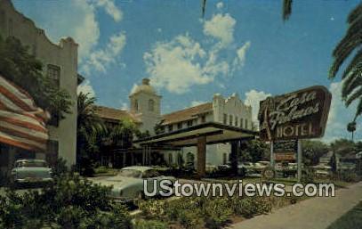 Casa De Palmas Hotel - McAllen, Texas TX Postcard