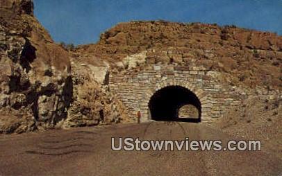 Tunnel, Boquillas Canyon - Big Bend National Park, Texas TX Postcard