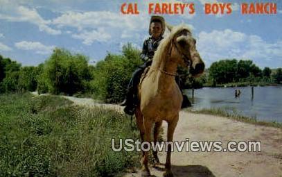 Cal Farley's Boy Ranch - Amarillo, Texas TX Postcard