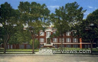 Sherman High School - Texas TX Postcard