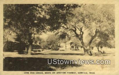 Lone Star Lodges - Kerrville, Texas TX Postcard