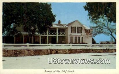 LBJ Ranch House - Misc, Texas TX Postcard