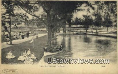 San Pedro Park, Texas      ;     San Pedro Park, TX Postcard