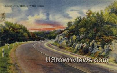 Mineral Wells, TX     ;     Mineral Wells, Texas Postcard