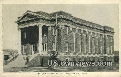 First Presbyterian Church - Breckenridge, Texas TX Postcard