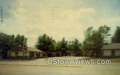 Royal Motel - Shamrock, Texas TX Postcard