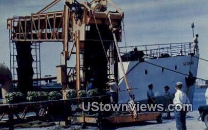 Ship - Brownsville, Texas TX Postcard