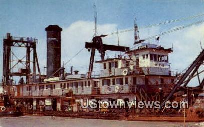 Dredge Miami - Raymondville, Texas TX Postcard