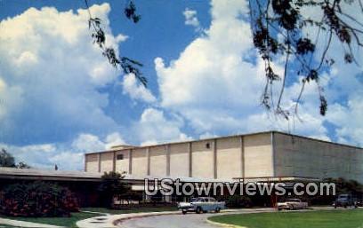 Main Auditorium, Civic Center - Brownsville, Texas TX Postcard