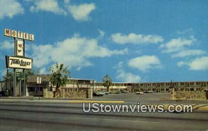 El Paso East Travelodge - Texas TX Postcard