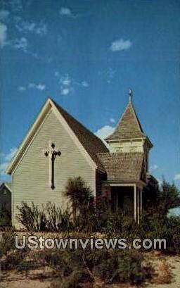 St Stephen's Episcopal Church - Fort Stockton, Texas TX Postcard