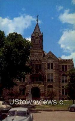 Fayette County Court House - La Grande, Texas TX Postcard
