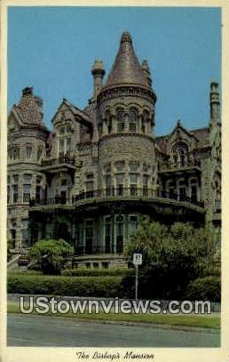 Bishops Mansion - Galveston, Texas TX Postcard