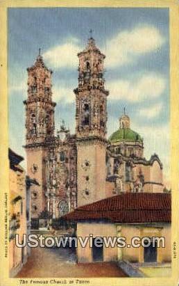Famous Church - Misc, Texas TX Postcard