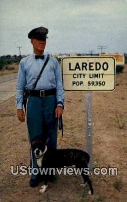 Laredo, TX     ;     Laredo, Texas Postcard