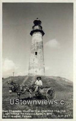 Real Photo - Don Chencho - Port Isabel, Texas TX Postcard