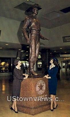 Immortal Texas Ranger - Dallas Postcard