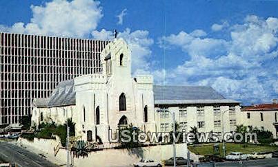 St David's Episcopal Church - Misc, Texas TX Postcard