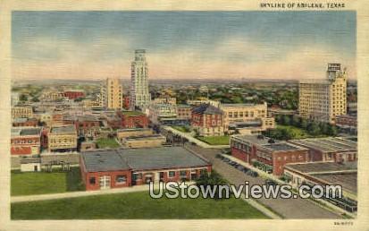 Abilene, Texas      ;     Abilene, TX Postcard