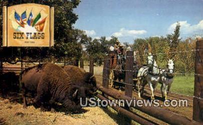 Butterfield Stage Run - Dallas, Texas TX Postcard