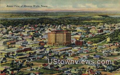 Mineral Wells, Texas      ;     Mineral Wells, TX Postcard