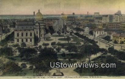 Galveston, Texas      ;     Galveston, TX Postcard