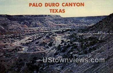 Palo Duro Canyon State Park, Texas      ;     Palo Duro Canyon State Park, TX Postcard
