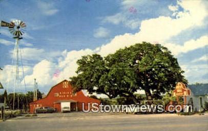 Birck's Bar B Q - Fredericksburg, Texas TX Postcard