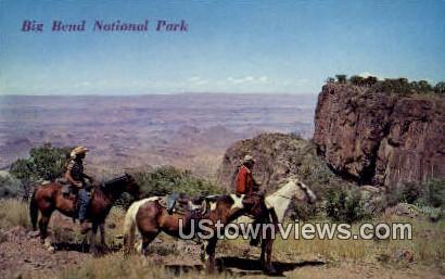 Big Bend National Park, TX     ;     Big Bend National Park, Texas Postcard