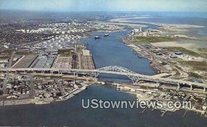 Corpus Christi Harbor Bridge - Texas TX Postcard