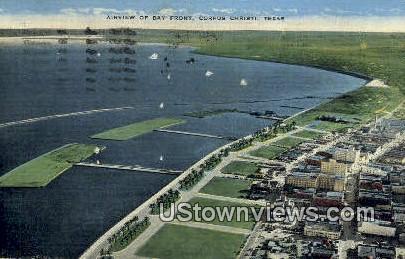Bay Front - Corpus Christi, Texas TX Postcard