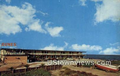 Dunes Resort Motel - Port Isabel, Texas TX Postcard