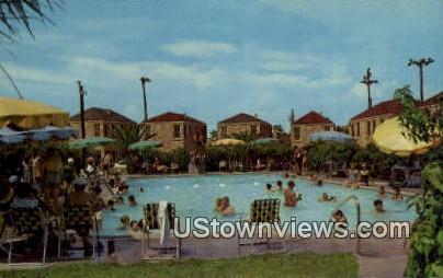 Coronado Court Hotel - Galveston, Texas TX Postcard