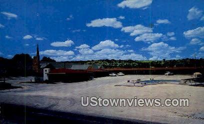 Flying Lodge - Ozona, Texas TX Postcard