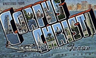 Greetings from Texas - Corpus Christi Postcard