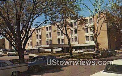 Nan Travis Memorial Hospital - Jacksonville, Texas TX Postcard