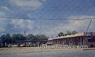 Oasis Motel - Sheffield, Texas TX Postcard