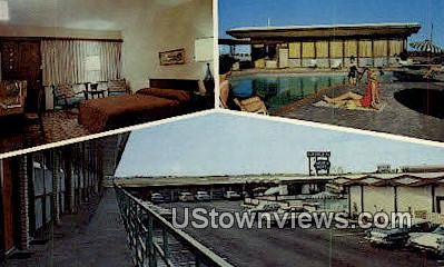Continental Motor Hotel - Greenville, Texas TX Postcard