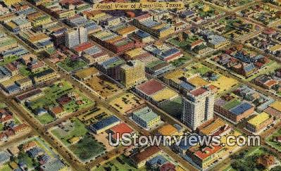 Amarillo, TX     ;     Amarillo, Texas Postcard