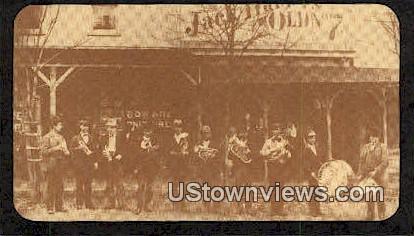 Lynchburg Cornet Band - Texas TX Postcard