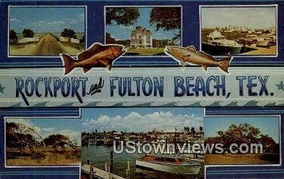Rockport - Fulton Beach, Texas TX Postcard