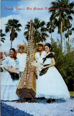 Fiesta Time - Rio Grande Valley, Texas TX Postcard