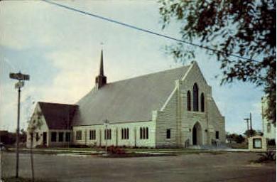 The First Methodist Church - Raymondville, Texas TX Postcard