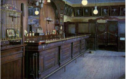 The Red Carter Saloon - Rimrock, Texas TX Postcard