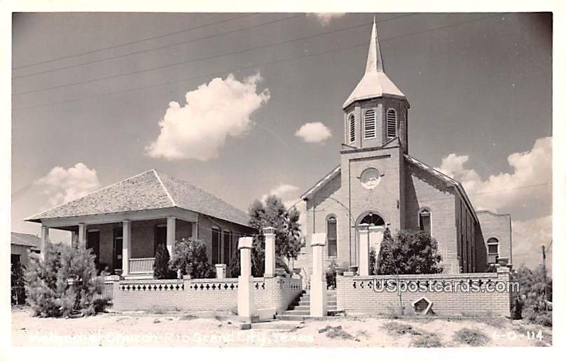 Methodist Church - Rio Grand City, Texas TX Postcard