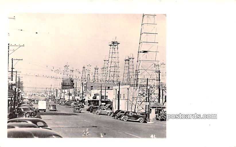 Street Scene - San Antonio, Texas TX Postcard