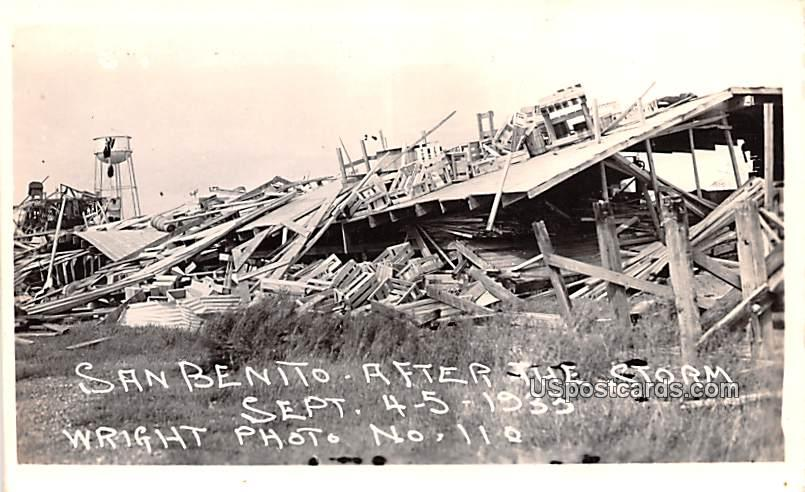 After the Storm - San Benito, Texas TX Postcard